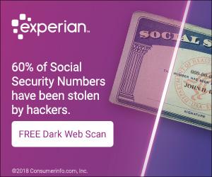 Experian Dark Web Scan, IDENTIFY THEFT