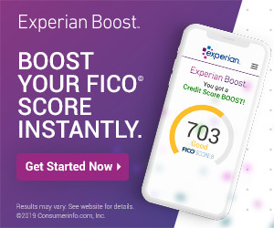 Experian Boost - Improve Your Credit Scores Instantly with utility bills