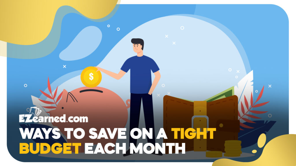 ways to save on a tight budget