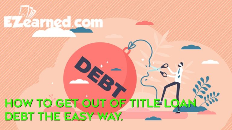 how to get out of title loan debt
