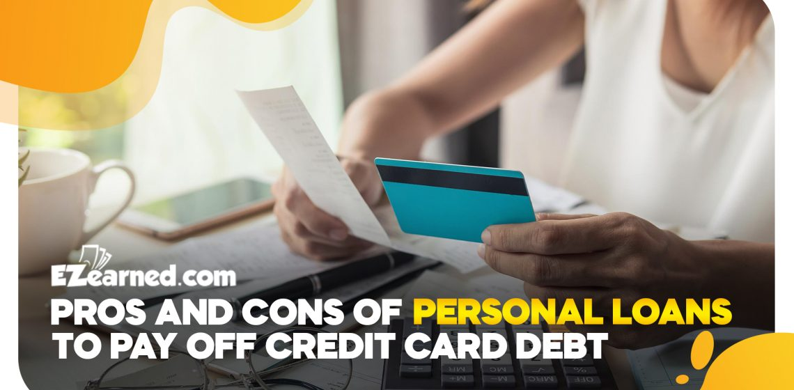 pros and cons of personal loans to pay off credit card debt